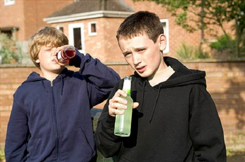 Дети копируют поведение пьющего отца
