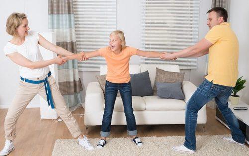 Порядок общения с ребенком мировое соглашение разница